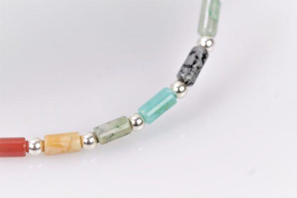multicolor armband zilver925 2