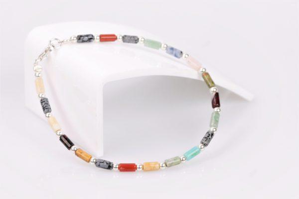 multicolor armband zilver925 1