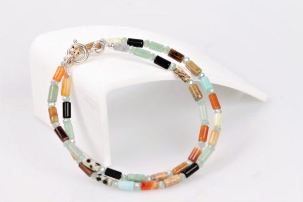 Multicolor Halfedelstenen Armband 1